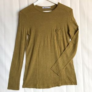 Alexander Wang pocket long sleeves